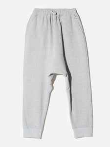 Cuffed Gusset Sweatpant in Heather Grey by OAK in Heather Grey by Oak OOS
