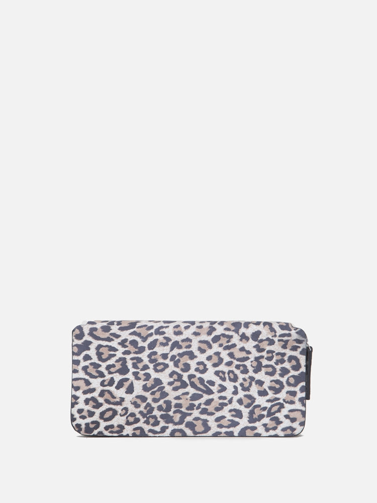 Oak Stagg Large Wallet in Leopard
