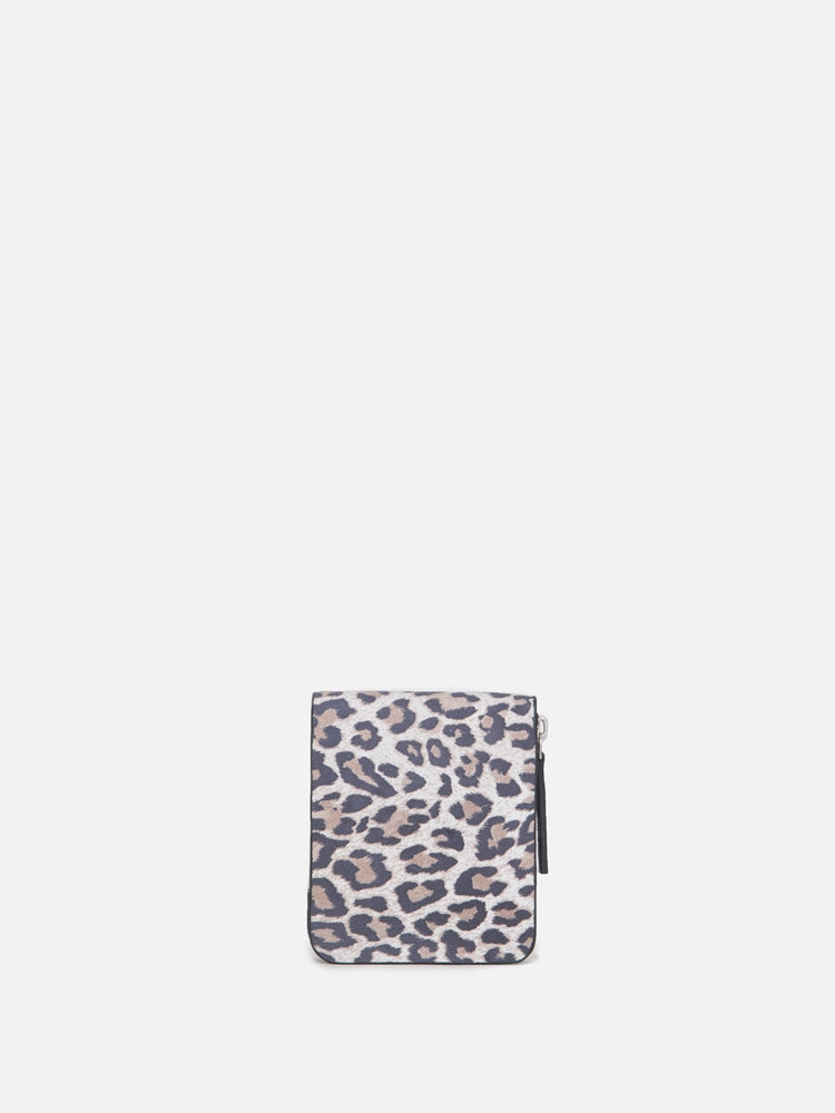 Oak Skillman Wallet in Leopard in Leopard by Oak
