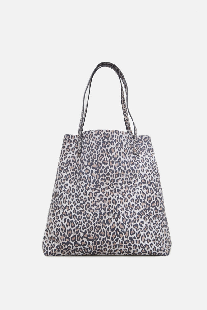 Oak Monitor Tote in Leopard in Leopard by Oak