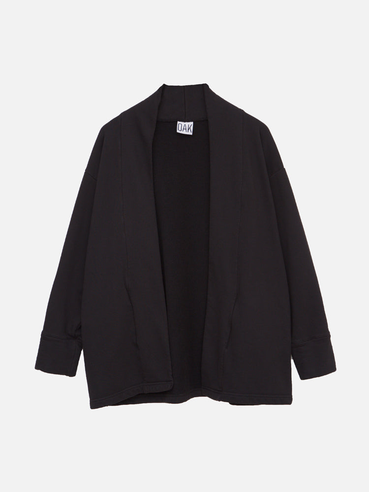Load image into Gallery viewer, Sunset Cardigan in Black by OAK