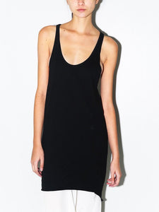 Side Cowl Long Tank in Black by Oak