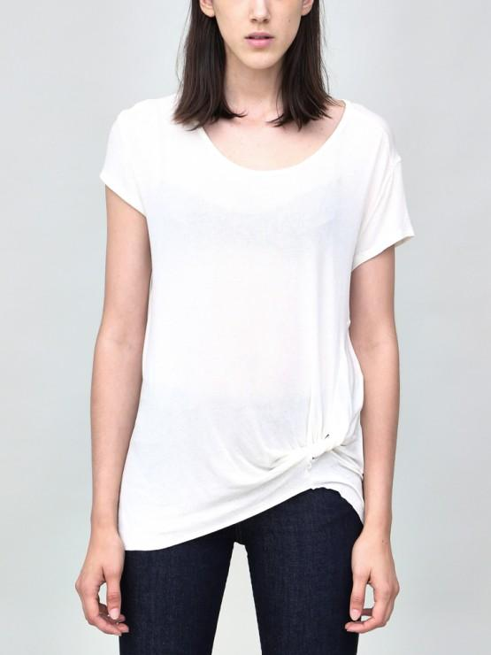 Load image into Gallery viewer, Short Sleeve Side Twist Tee