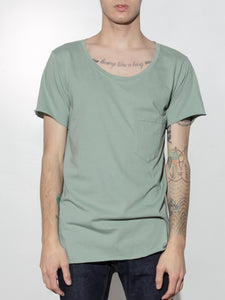 Torque Tee in Atlantic Green by Oak OOS