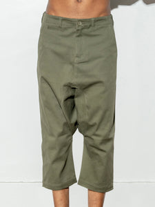 Dropped Taper Pant in Fatigue by Oak