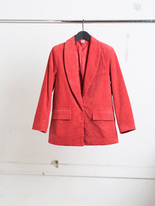 Oak Stanton Blazer in Rust in Rust by Oak