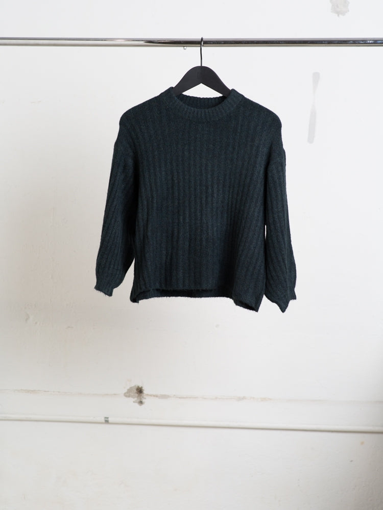 A/OK Chunky Sweater in Moss