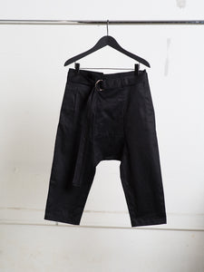 Oak Belted Karate Pant in Black by Oak