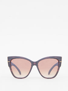 Ali Sunglasses in Wood Grain by A/OK OOS