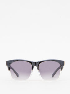 Across Sunglasses in Black/Clear by A/OK OOS