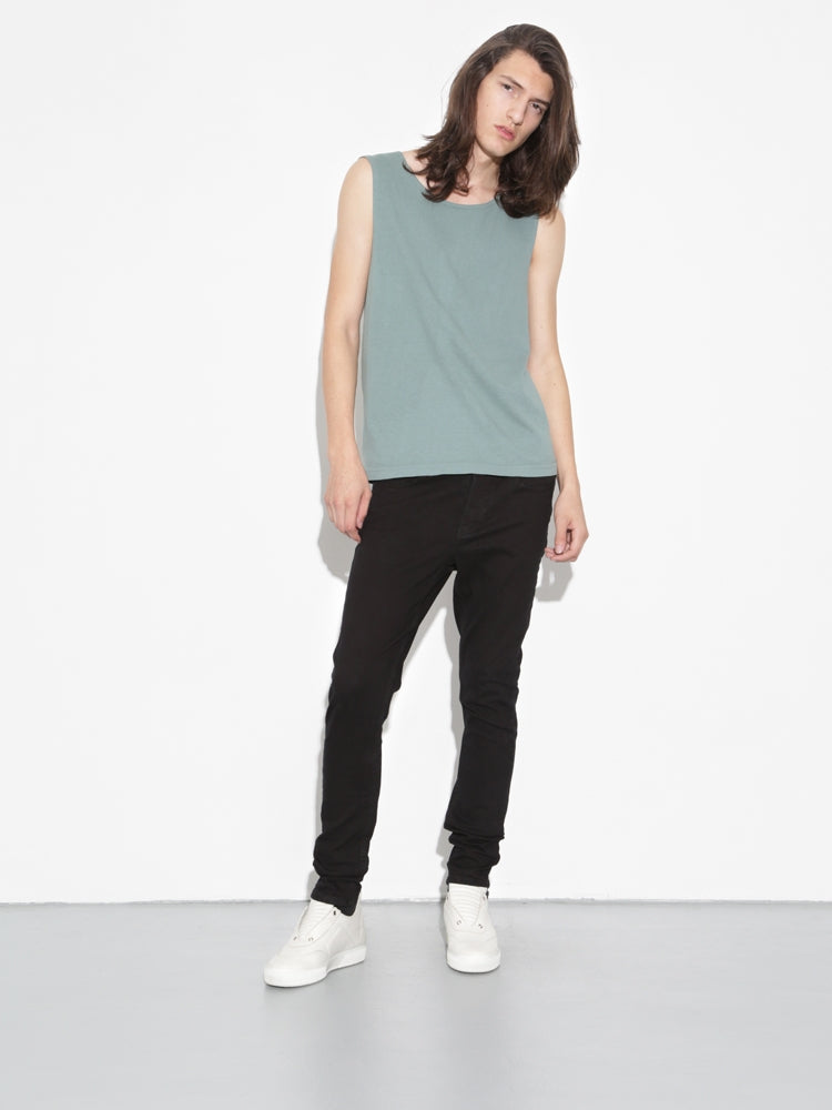 Oak Chapman Tank in Atlantic Green in Atlantic Green by Oak