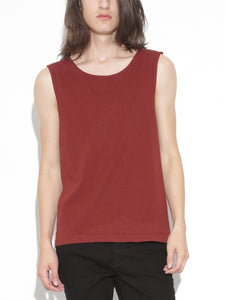 Oak Chapman Tank in Burnt Orange in Burnt Orange by Oak