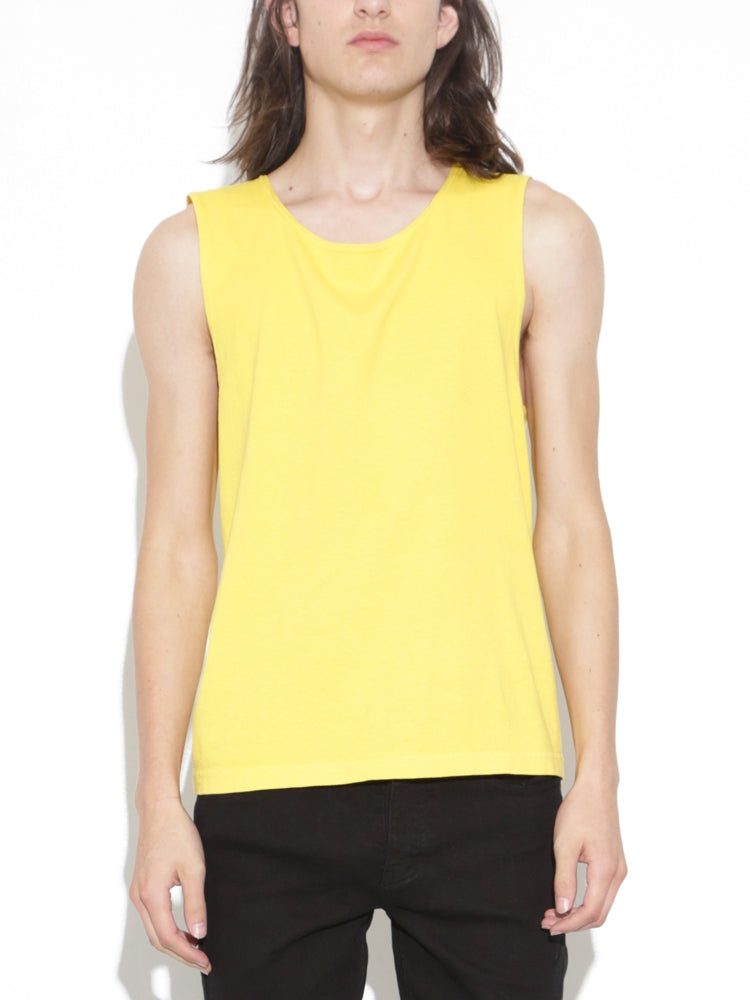 Oak Chapman Tank in Spectra Yellow in Spectra Yellow by Oak