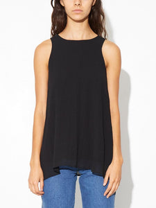 Chiffon top in Black by A/OK OOS
