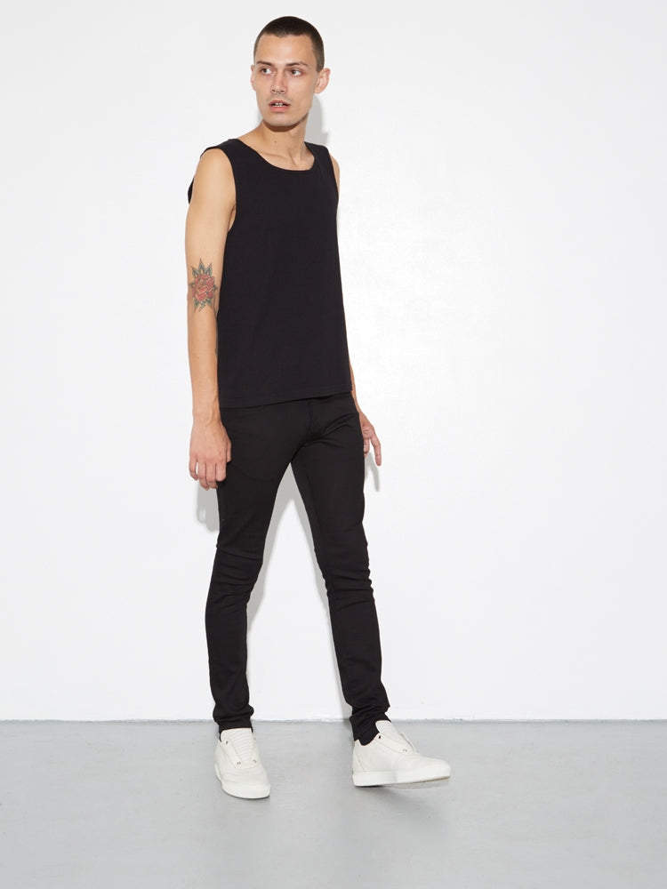 Classic Skinny Jean in Black by OAK