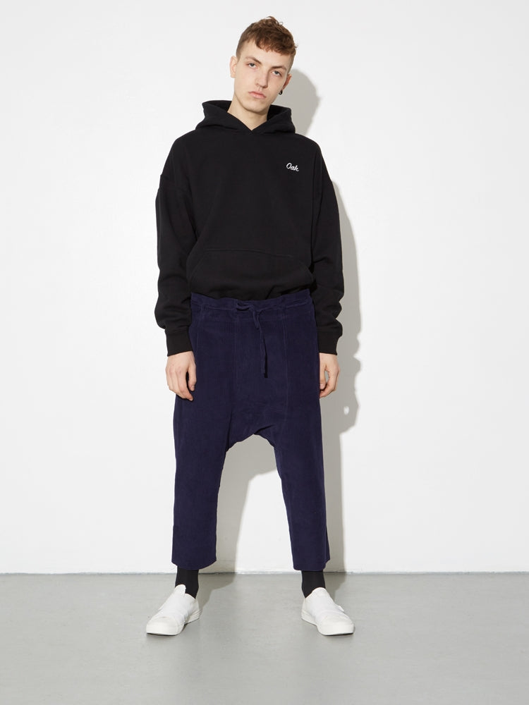 Oak Cropped Karate Pant in Midnight Cord