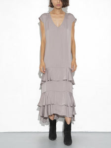 Devoe Dress in Taupe by Oak