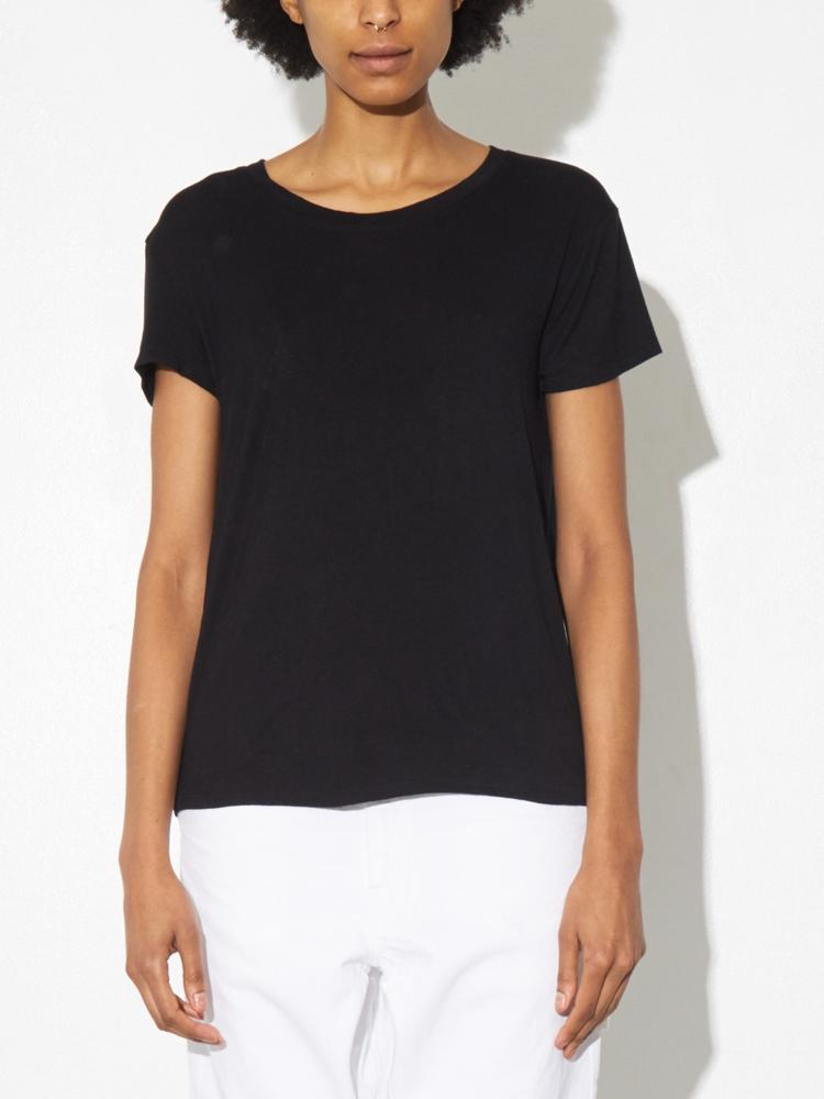 Ease Tee in Black by A/OK