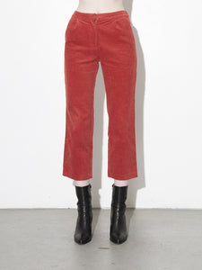 Oak Stanton Pant in Rust in Rust by Oak OOS