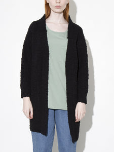 Oak Clifton Cardigan in Black in Black by Oak