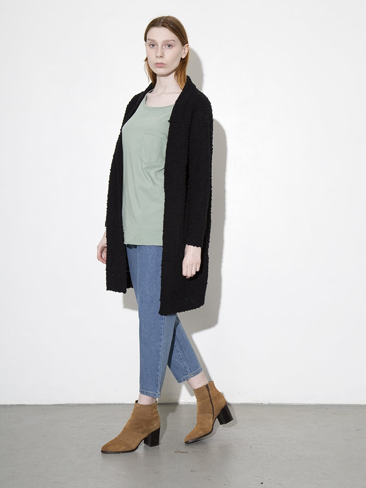 Oak Clifton Cardigan in Black
