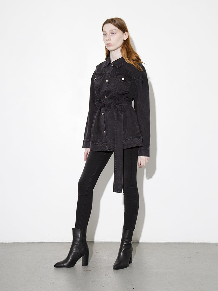 Oak Ridge Jacket in Black in Black by Oak