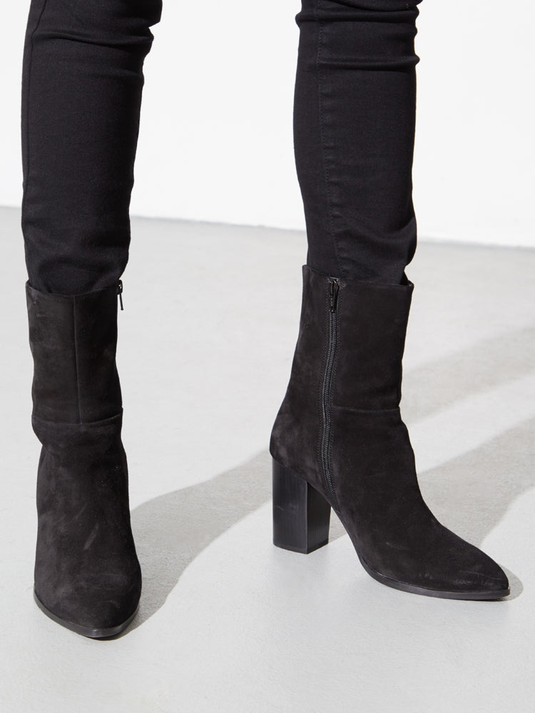 Load image into Gallery viewer, Ellery Boot in Black Suede by Oak