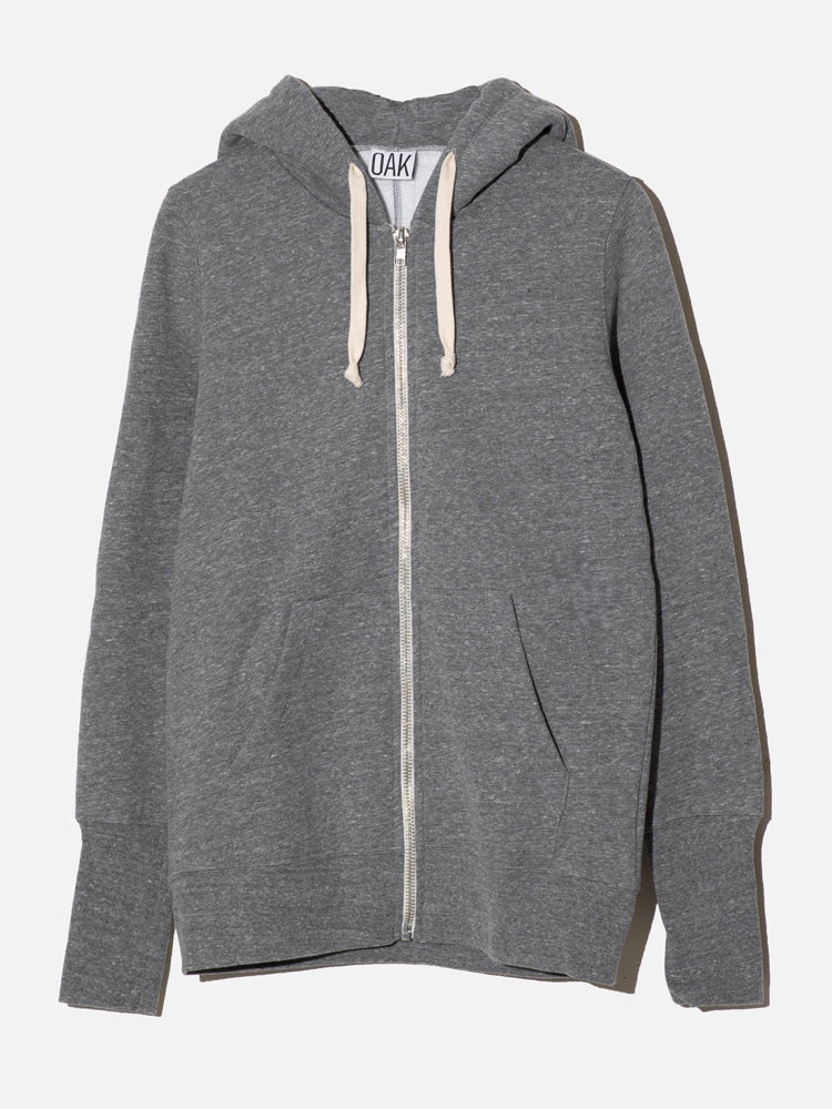 Load image into Gallery viewer, Oak Slouch Hoodiein Heather Grey