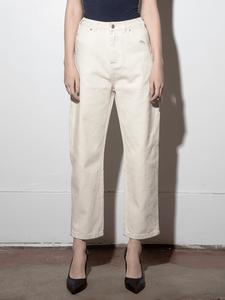 Relaxed Jean in Bone by A/OK OOS