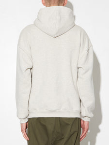 Half Zip Hoodie in Oatmeal by Oak OOS
