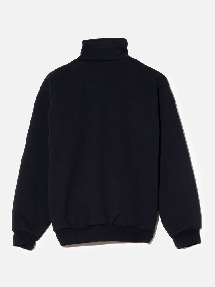 Load image into Gallery viewer, Oak Half Zip Pullover in Black