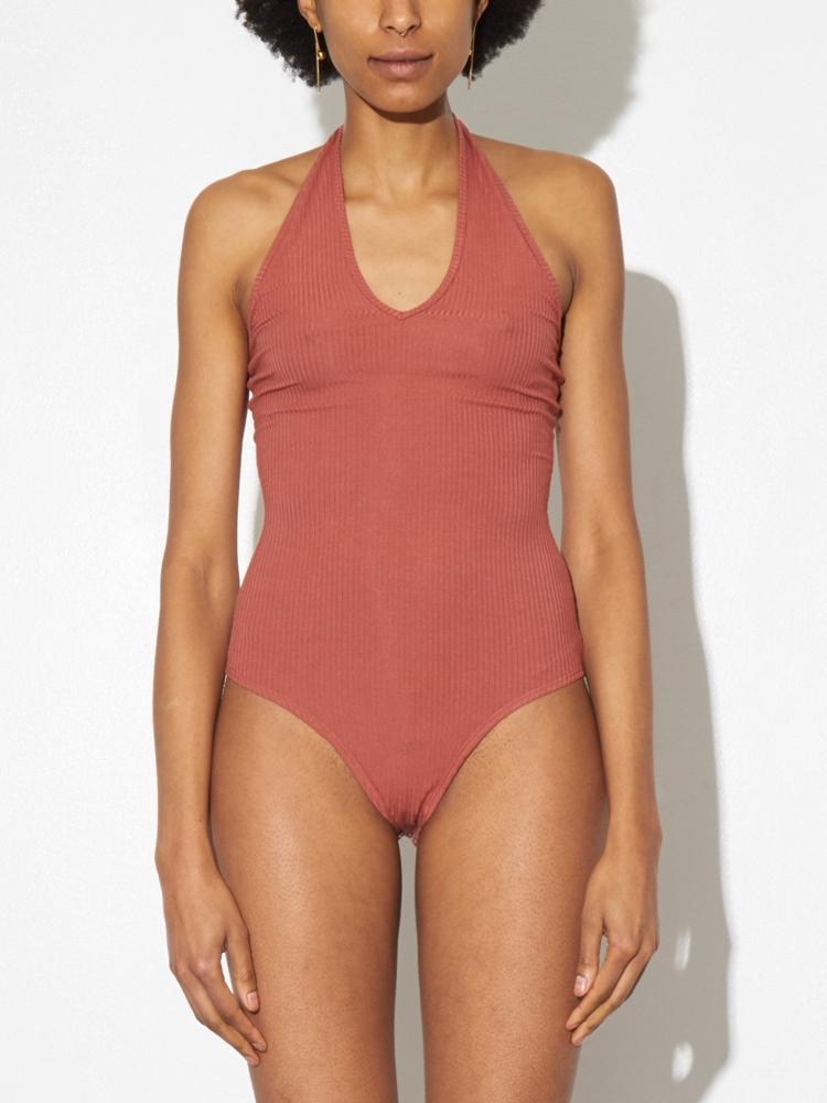 Load image into Gallery viewer, Halter Bodysuit