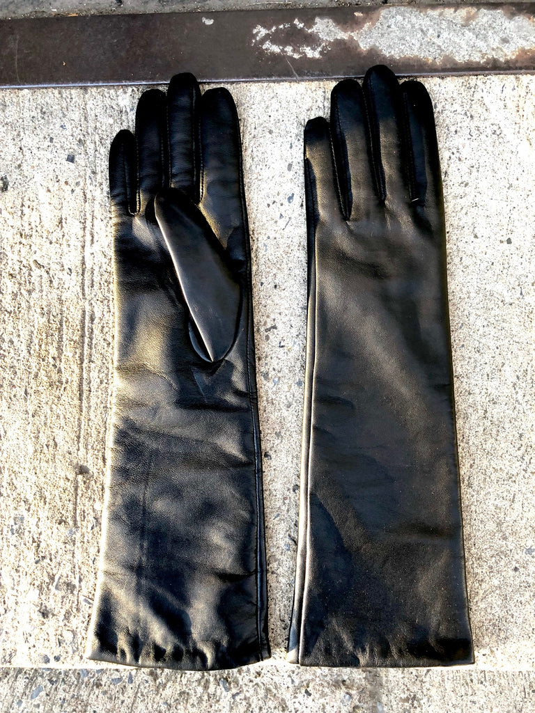 Womens Long Glove in Black by Oak