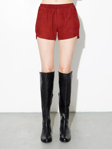 Oak LA Suede Reed Short in Burnt Orange in Burnt Orange by Oak OOS