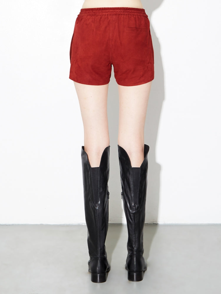 Load image into Gallery viewer, Oak LA Suede Reed Short in Burnt Orange