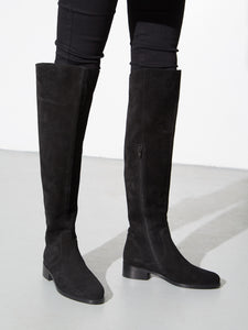 Linden Boot in Black Suede by Oak in Black Suede by Oak