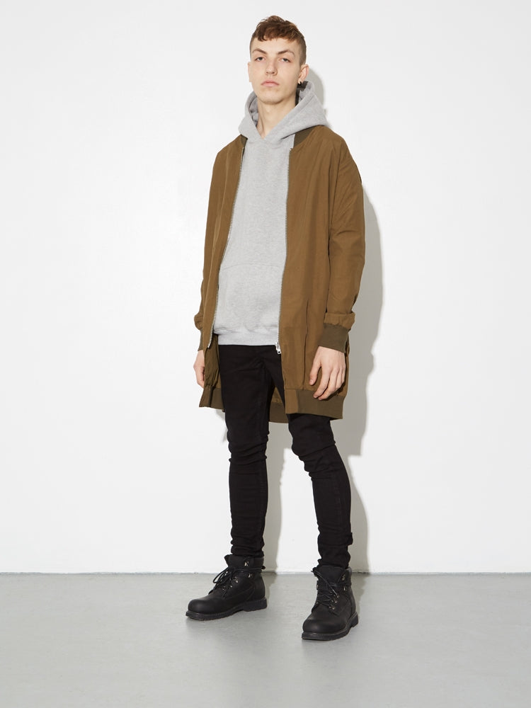 Long Zip Bomber in Fatigue by OAK