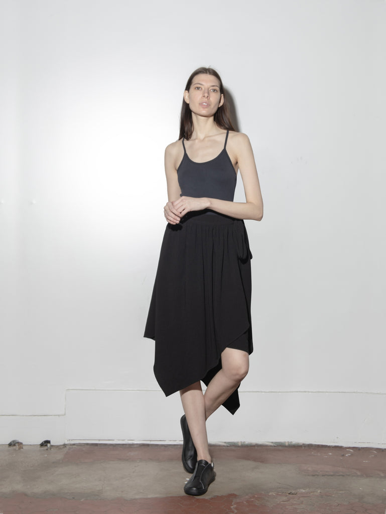 Seton Skirt in Viscose Tencel by Oak