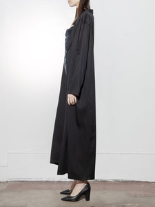 Robe Trench in Black by Oak