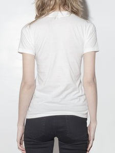 Tight Crew Tee in Chalk by Oak