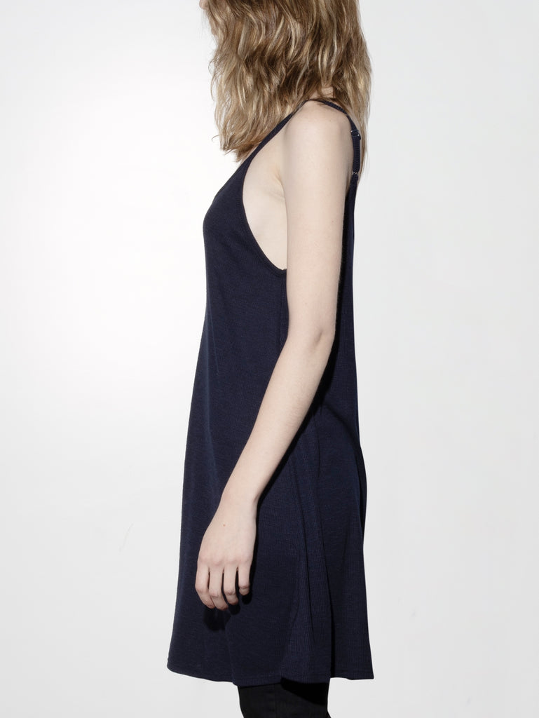 Load image into Gallery viewer, V-Neck Rib Dress