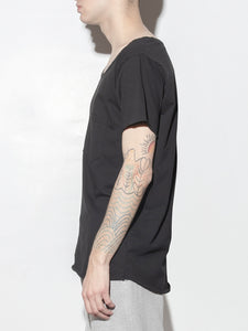 Torque Tee in Black by Oak