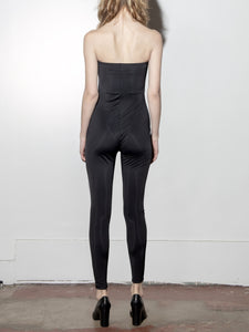 Tube Jumpsuit in Black by A/OK OOS