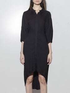 Tabor Dress in Black by Oak