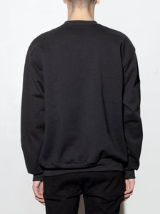 Standard Crew Sweatshirt in Black by Oak