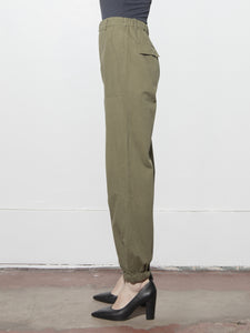 Panel Jogger in Olive by A/OK OOS