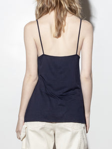 Henley Cami in Midnight by A/OK OOS