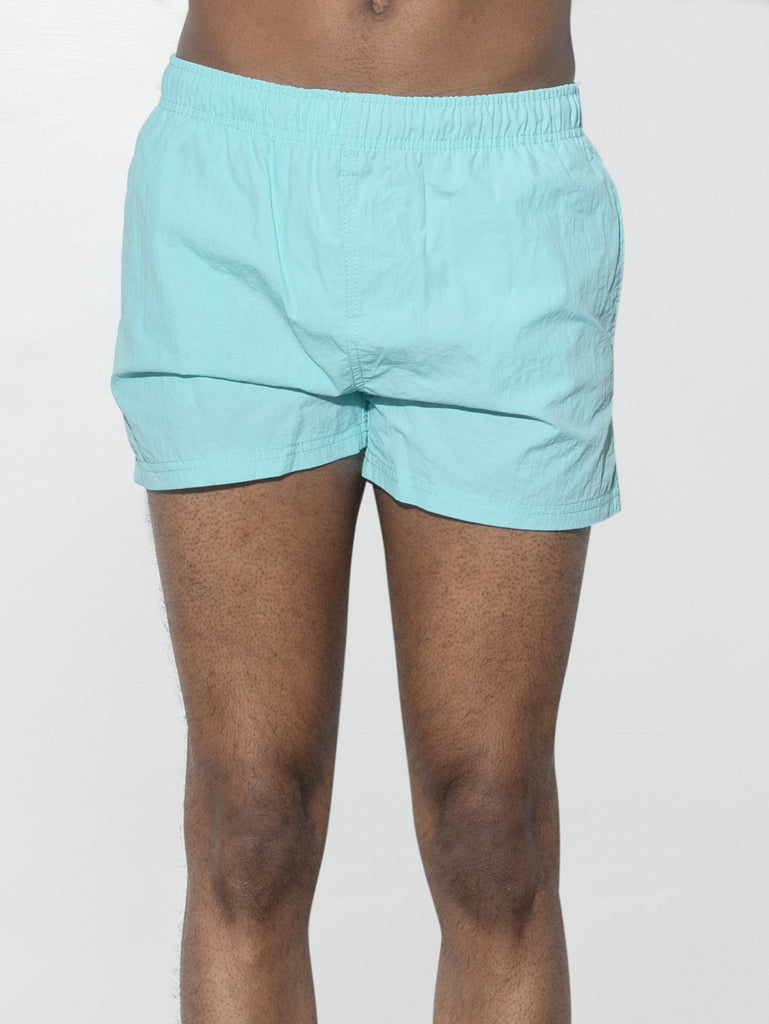 Cropped Swim Short in Sea by Oak