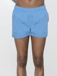 Cropped Swim Short in Sky by Oak