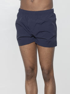 Cropped Swim Short in Lake by Oak
